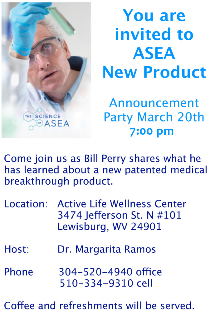 ASEA New Product